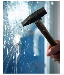Using glass-break detectors can reduce the chances of false alarms at commercial properties.